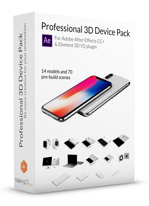 Professional Apple 3D Device Pack Wallpaper