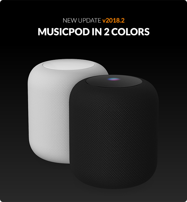Homepod 3D model update