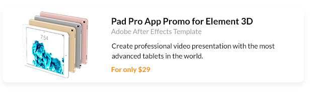 Create professional video presentation with the most advanced tablets in the world.