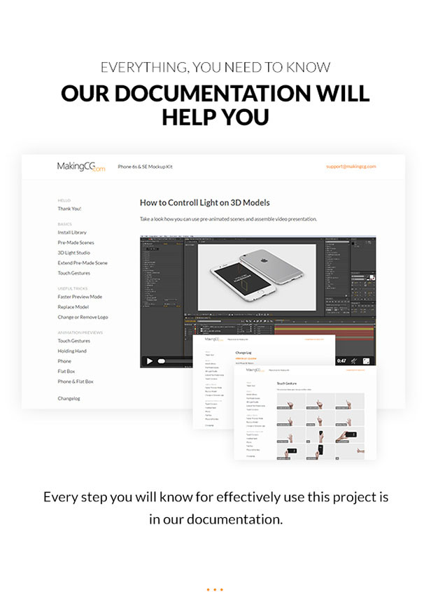 Every step you will know for effectively use this project is in our documentation.