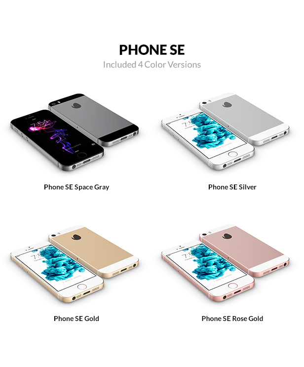 iphone se 3D models